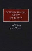 International Music Journals