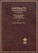 Cases and Materials on Contracts