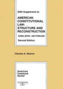 Supplement to American Constitutional Law