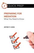 Preparing for Mediation