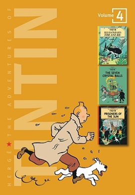 Adventures of Tintin 3 Complete Adventures in 1 Volume: Red Rackham's Treasure: WITH The Seven Crystal Balls AND Prisoners of the Sun (Tintin Three-in-one)