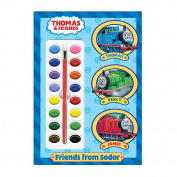 Friends from Sodor [With Paint Brush and Paint Box]