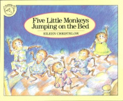 HOUGHTON MIFFLIN HO-395557011 FIVE LITTLE MONKEYS JUMPING