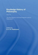 The Routledge History of Philosophy