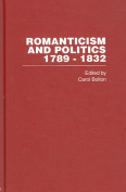 Romanticism and Politics, 1789-1832