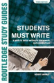 Students Must Write