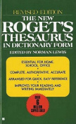 The New Roget's Thesaurus