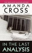 In the Last Analysis (Kate Fansler Novels