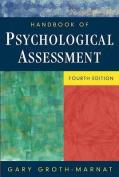 Handbook of Psychological Assessment, 4th Edition