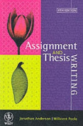 Assignment & Thesis Writing
