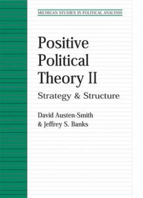 Positive Political Theory: Strategy and Structure: v. 2 (Michigan Studies in Political Analysis)