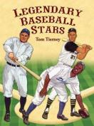 Legendary Baseball Stars Paper Dolls in Full Colour