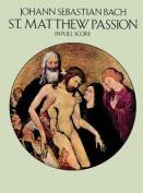 Alfred 06-26257X St. Matthew Passion - Music Book