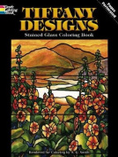 Tiffany Designs Stained Glass Colouring Book