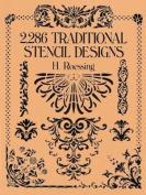 2286 Traditional Stencil Designs