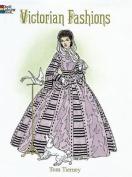 Victorian Fashions Colouring Book