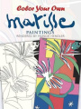 Colour Your Own Matisse Paintings