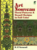 Art Nouveau Patterns and Stencil Designs