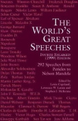 The World's Great Speeches [Large Print]