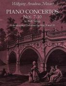 Piano Concertos Nos. 7-10 in Full Score