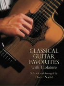 Alfred 06-439607 Classical Guitar Favorites with Tablature - Music Book