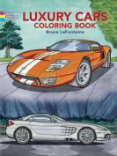 Luxury Cars Colouring Book