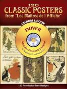 """120 Classic Posters from """"Les Maitres De l'Affiche"""""""