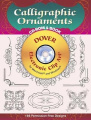 Calligraphic Ornaments CD-ROM and Book [With For Macintosh and Windows]