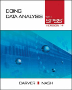 Doing Data Analysis with SPSS