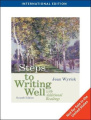 Steps to Writing Well with Additional Readings, International Edition