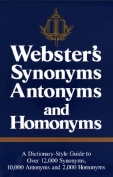 Webster's Synonyms, Antonyms and Homonyms