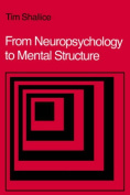 From Neuropsychology to Mental Structure