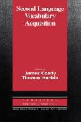 Second Language Vocabulary Acquisition