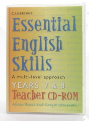 Essential English Skills Years 7 and 8 Teacher CD-ROM: A multi-level approach