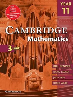 Cambridge 3 Unit Mathematics Year 11 with CD-ROM (Cambridge Secondary Maths (Australia))