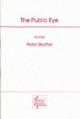 The Public Eye: Play (Acting Edition S.)