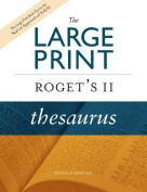 The Large Print Roget's II Thesaurus [Large Print]