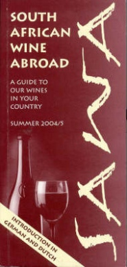 South African Wine Abroad: A Guide to Our Wines in Your Country