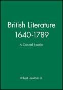 British Literature, 1640-1789