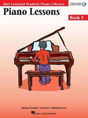 Piano Lessons, Book 5 (Hal Leonard Student Piano Library (Songbooks))