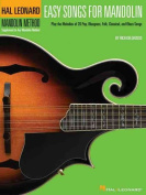 Easy Songs for Mandolin (Hal Leonard Mandolin Method