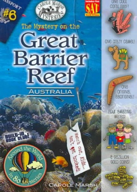 The Mystery on the Great Barrier Reef (Around the World in 80 Mysteries (Paperback))