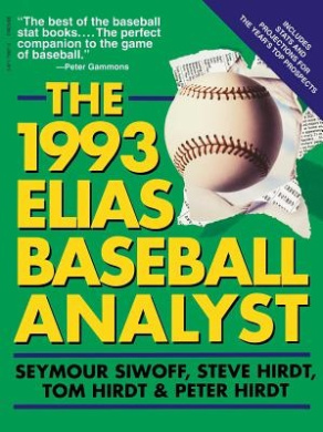 Elias Baseball Analyst: 1993