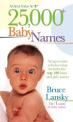 25,000 Baby Names
