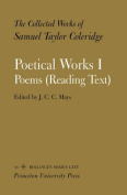 The Collected Works of Samuel Taylor Coleridge: Volume 16: Poetical Works