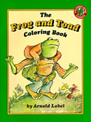 Frog and Toad Colouring Book