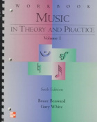 Music Theory Practice 6e V1 Wb