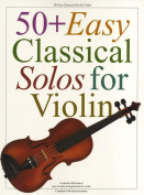 50+ Easy Classical Solos For Violin. [Region 4]