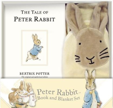The Tale of Peter Rabbit and Blanket Gift Set