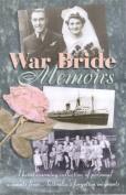 War Bride Memoirs